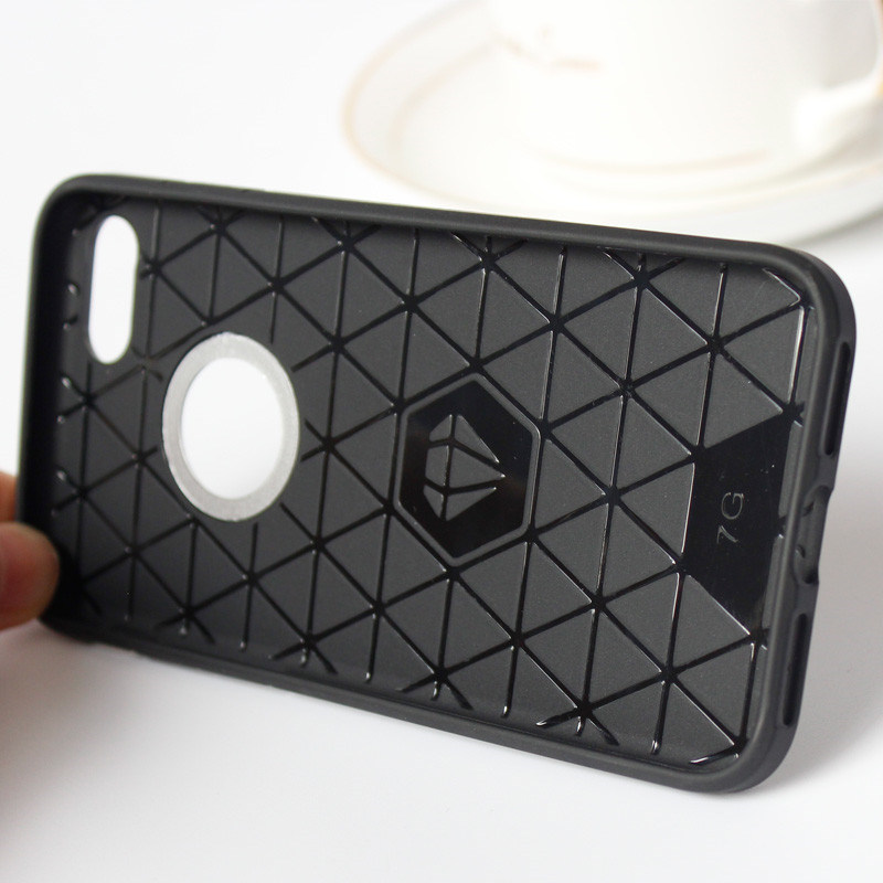 Carbon Fiber Motomo Cell/Mobile Phone Cases for iPhone 7 Case