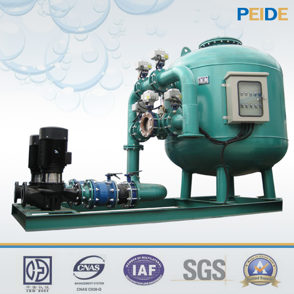 Artificial Landscape Water Treatment System Sand Filter with Pump