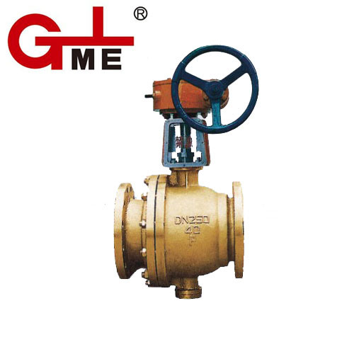 Oxygen Special Bras Ball Valve (QY347F)