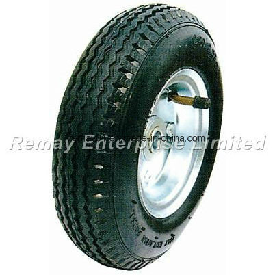 8 inches Pneumatic Rubber Wheel (PR0820)