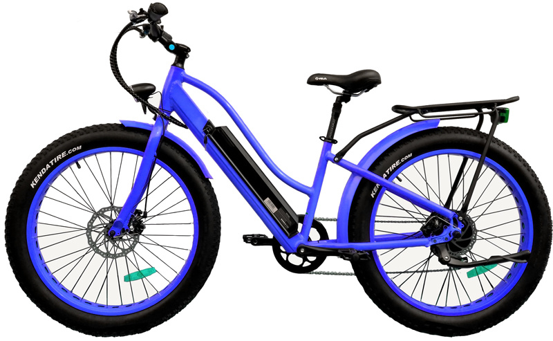 Hidden Battery Fat Tire 26inch Beach Mountain Electric Bicycle