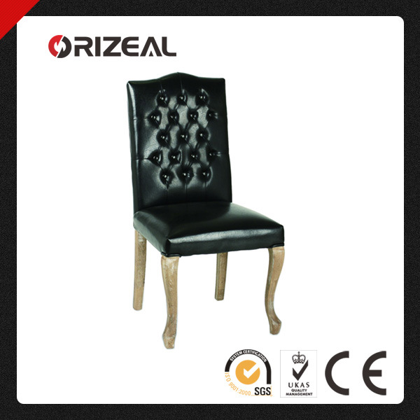 Hot Sale Leather Dining Chair (OZ-SW-069)