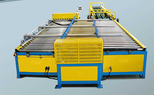 Auto Duct Line 5, Duct Manufacture Auto Line