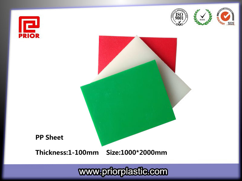 100% Virgin Polypropylene Sheet, PP Sheet