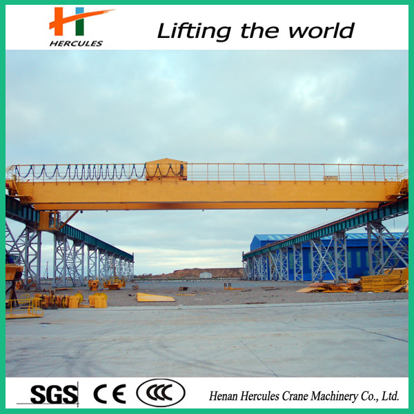 Double Girder Bridge Crane with Carrier Beam