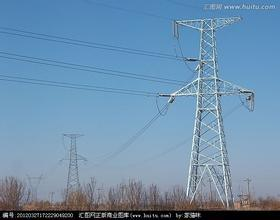 Steel Transmission Power Tower