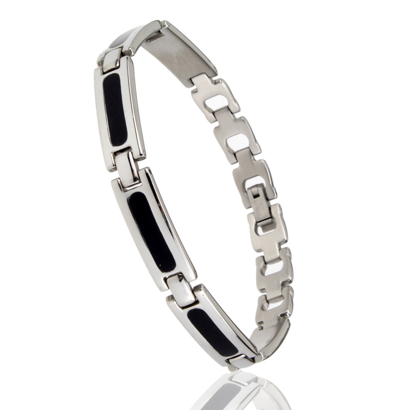 Magnetic Stainless Steel (Titanium) Energy Bracelet