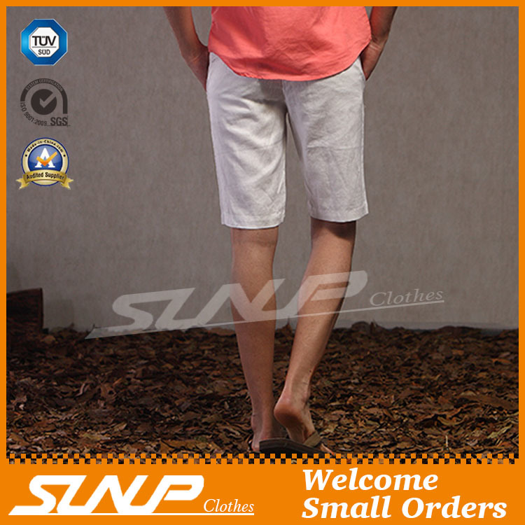 Wholesale Customized Men′s Casual Cotton Chino Short Pants