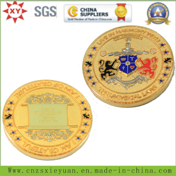 3D Customize Metal Challenge Coin for Souvenir