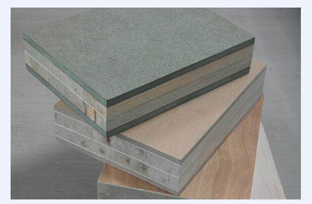 45mm Paulownia Blockboard with 6mm Green MDF
