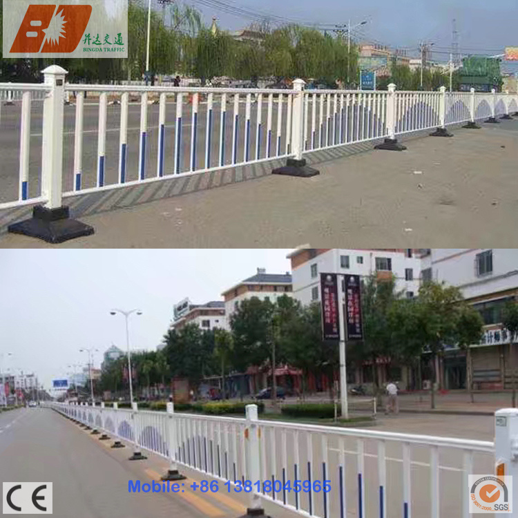 Rustproof Galvanized Steel Isolation Belt Road Divider/Barrier