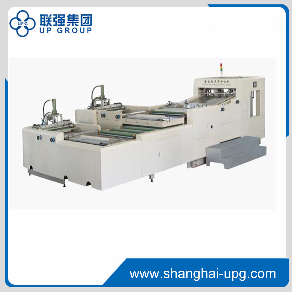Automatic Card Slitting & Collating Machine