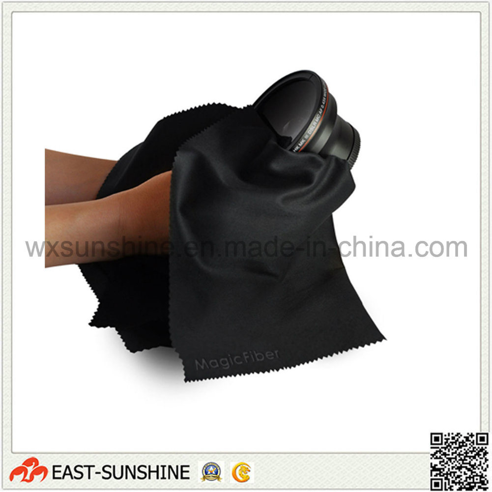 Microfiber Cleaning Cloth Textile for Lens (DH-MC0187)