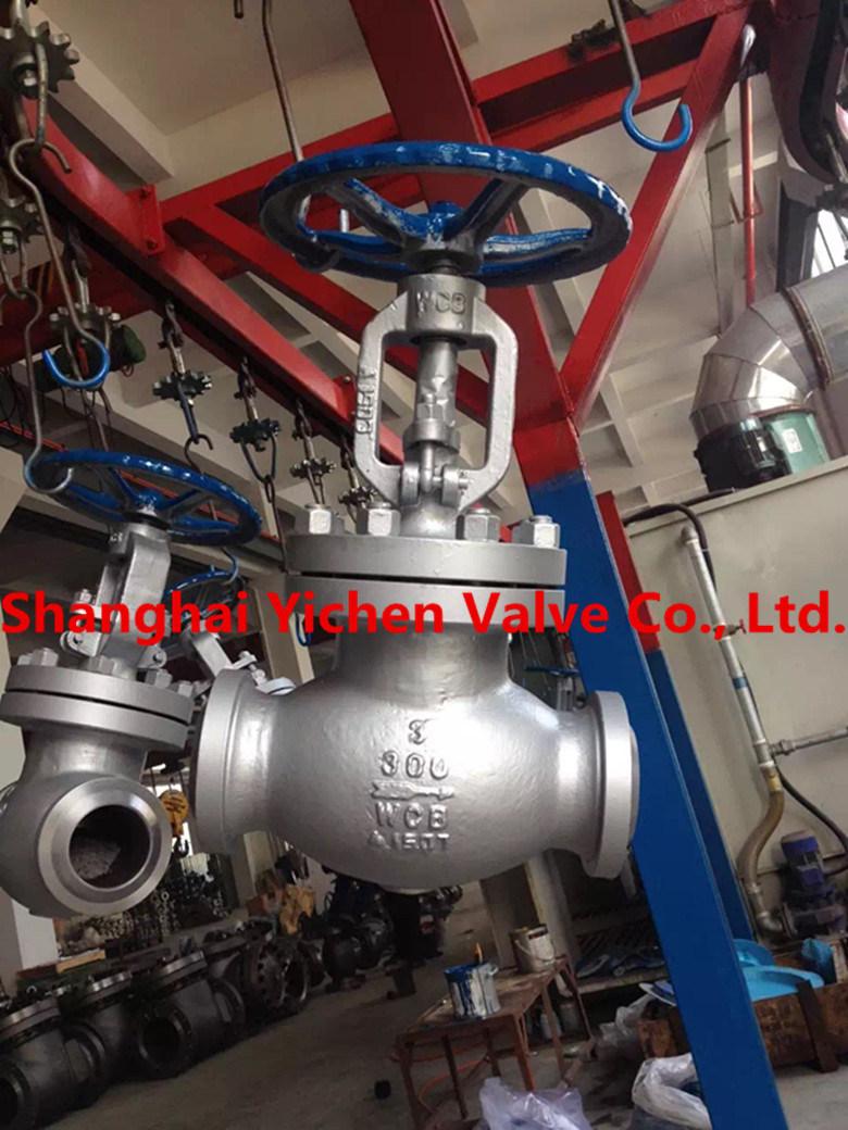 API Standard Cast Steel Globe Valve (J41H)