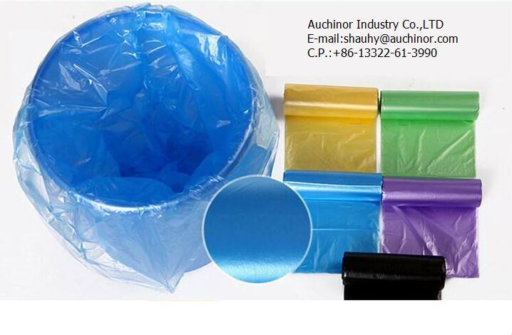 Custom Made High Quality Plastic Color Printing Garbage Packing Bag