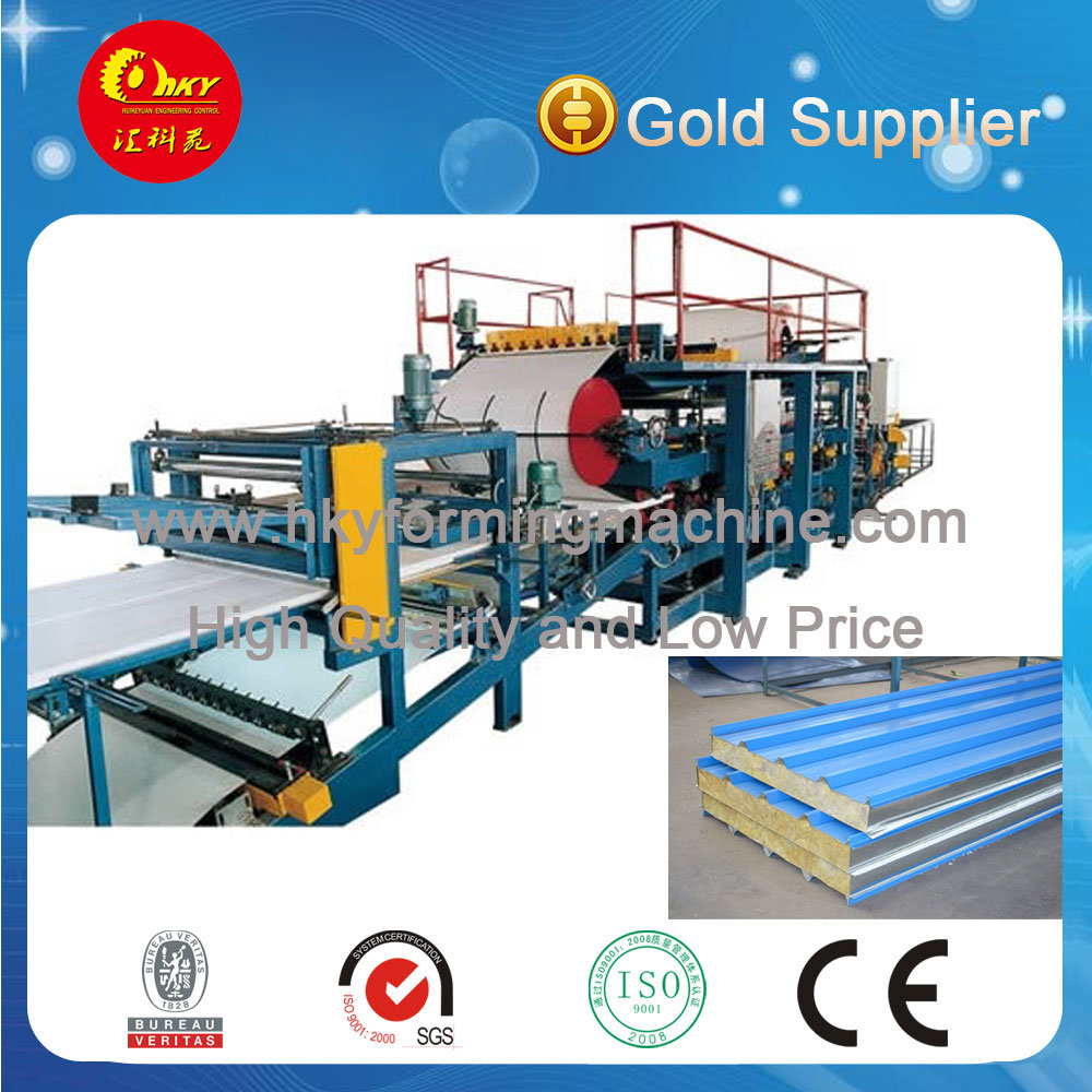 EPS/Wool Sandwich Panel Roll Forming Machine