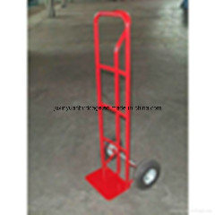 Factory Price Ht1805 200kg Hand Trolley with Pneumatic Tyres