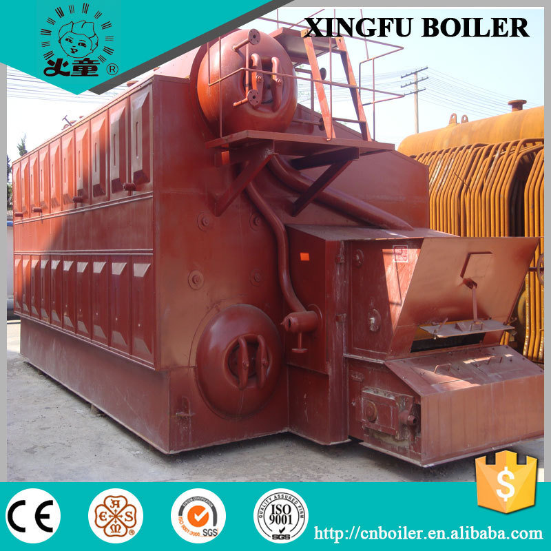 Hot Sale! ! ! Dzl Series Chain Grate Coal Fired Steam Boiler