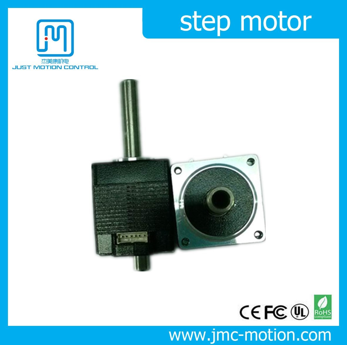 China Size 20 Mm 2 Phase Stepper Motor Electric Hollow