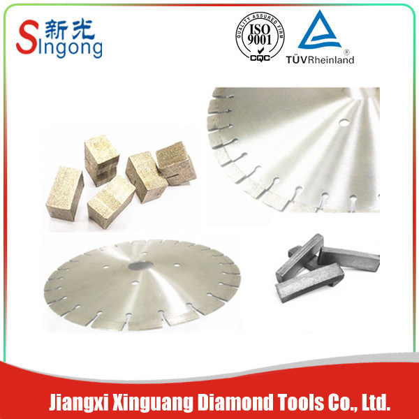 Segments for Cutting Different Type of Stones