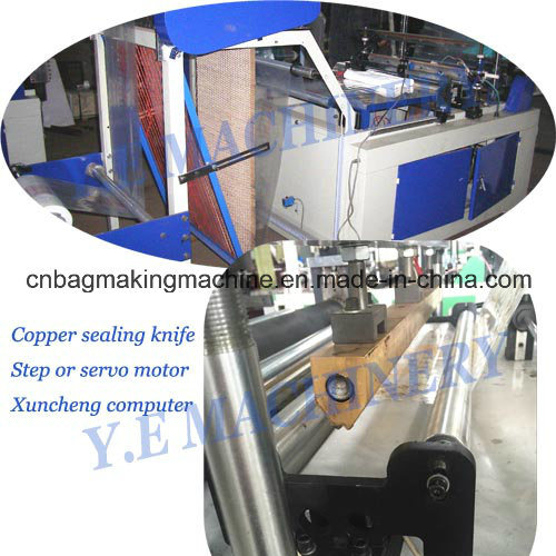 Double Layer 4 Lines T-Shirt Shopping Bag Making Machine (LQ)