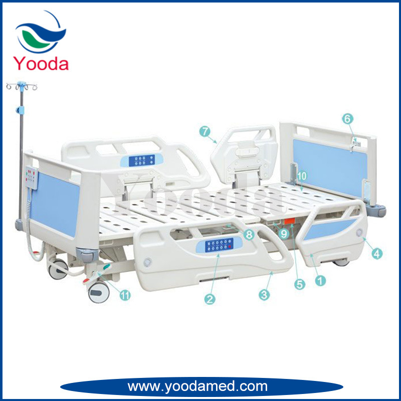 Luxurious Electric Hospital Bed with Five Functions