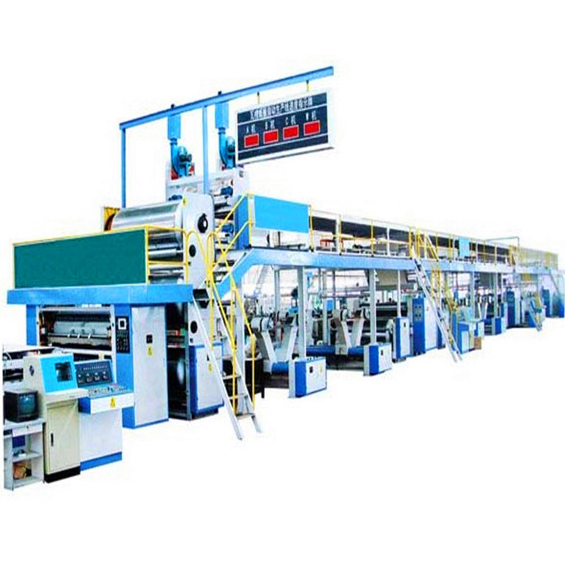 Automatic Corrugated Cardboard Production Assemble Line