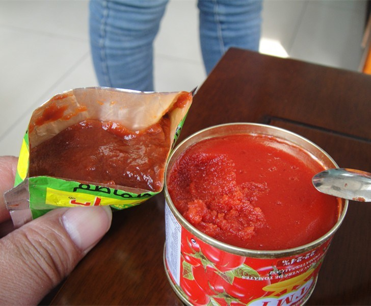 Wholesale Gino Quality 2.2 Kg Tomato Sauce in Normal Open Tin From China Supplier