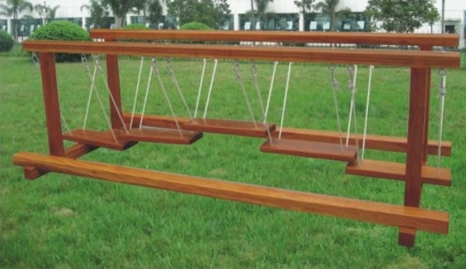 China Wooden Playground Equipment Qq12046 5 Photos