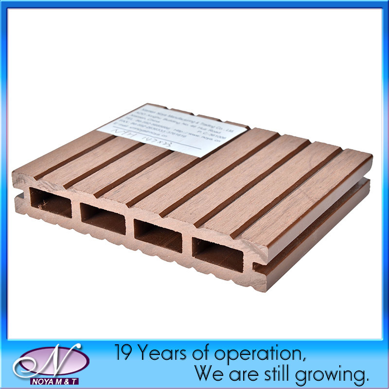 WPC (wood and plastic composite) Decking Flooring for Outdoor Garden