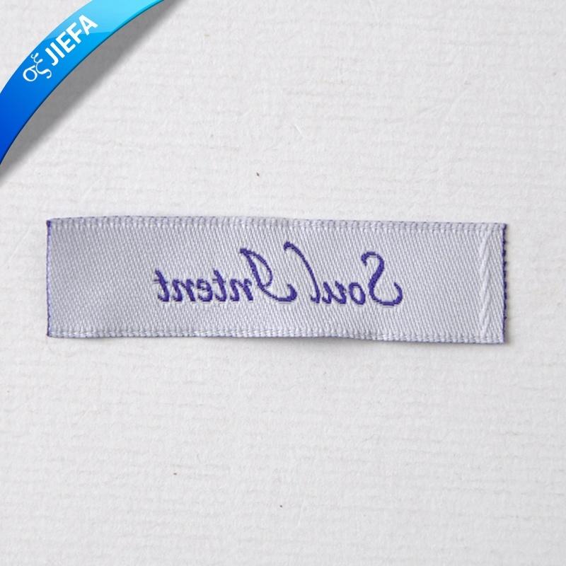 Eco Friendly Woven Garment Label