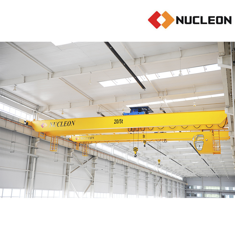 Nucleon Warehouse Specialized Double Girder Hoist Crane 10 Ton