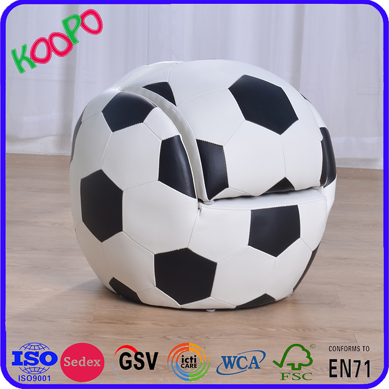 China Football Kids Furniture Upholstered Chair And Ottoman (SF 127)    China Kids Furniture, Children Chair