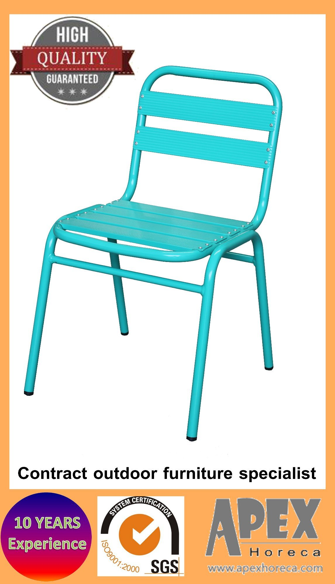 Cafe Dining Chair Outdoor Restaurant Side Chair