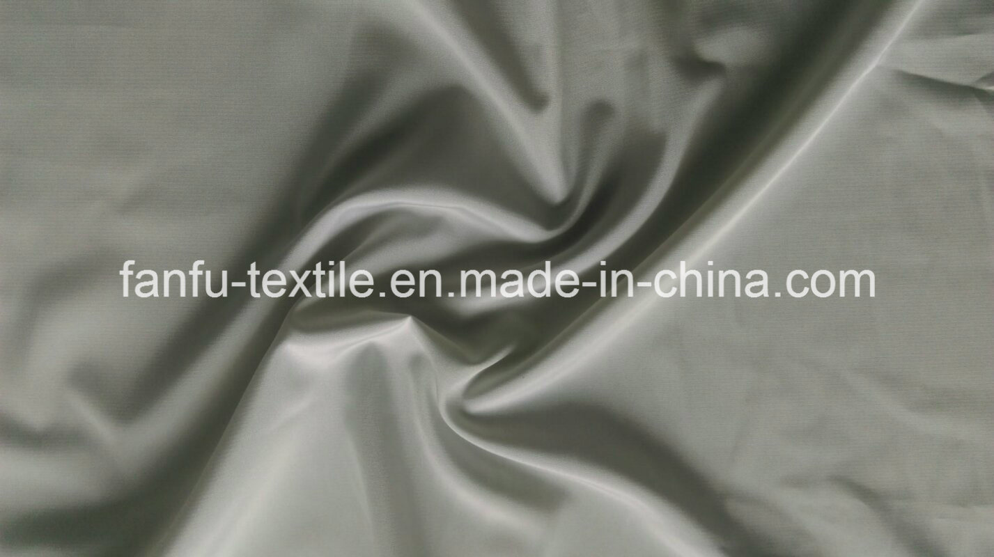 100% Polyester 50dx50d Faille Fabric