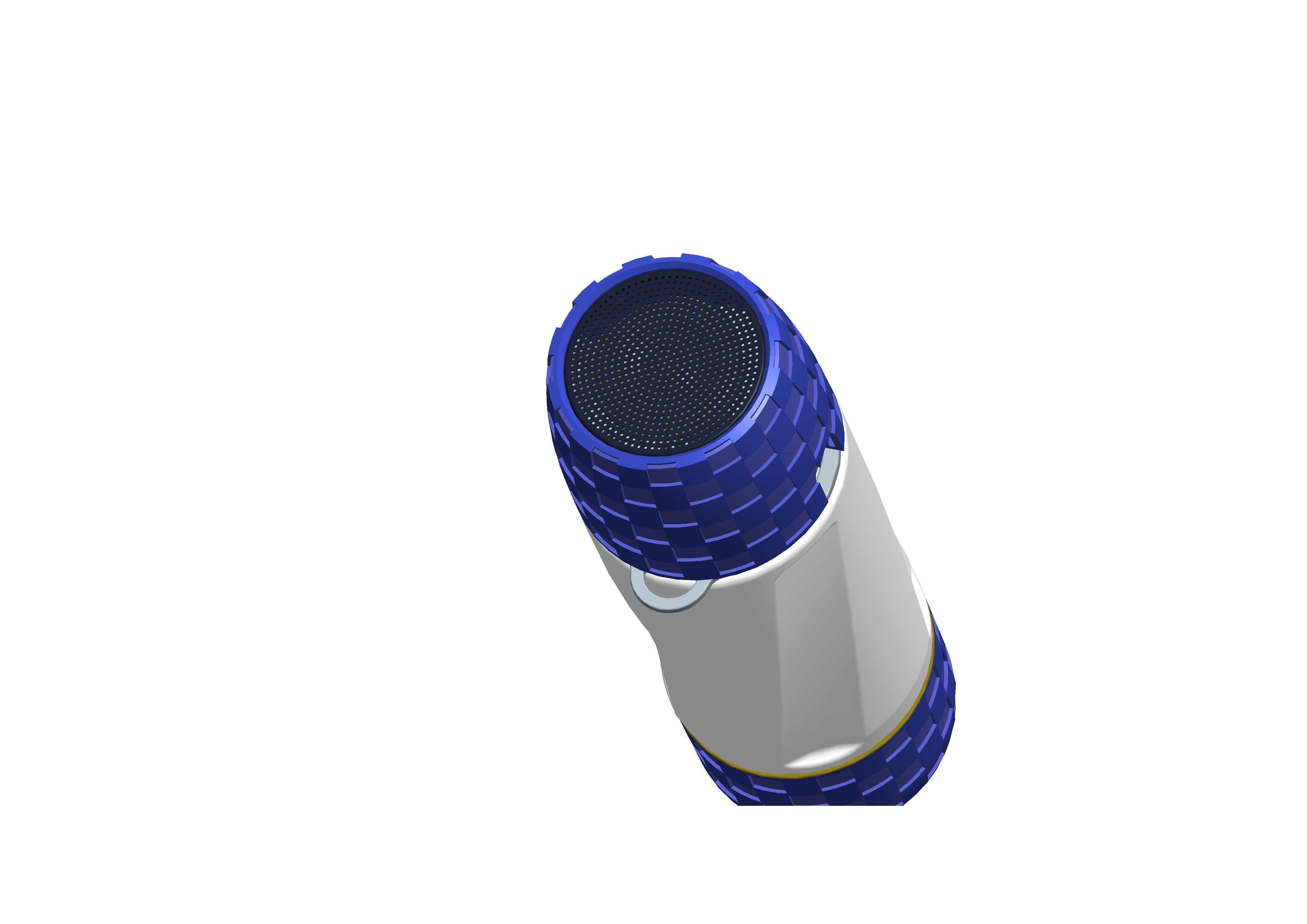 2017 Newest Design Heat Preservation Water Bottle with Sports Waterproof Bluetooth Speaker and Power Bank (OITA-9900)