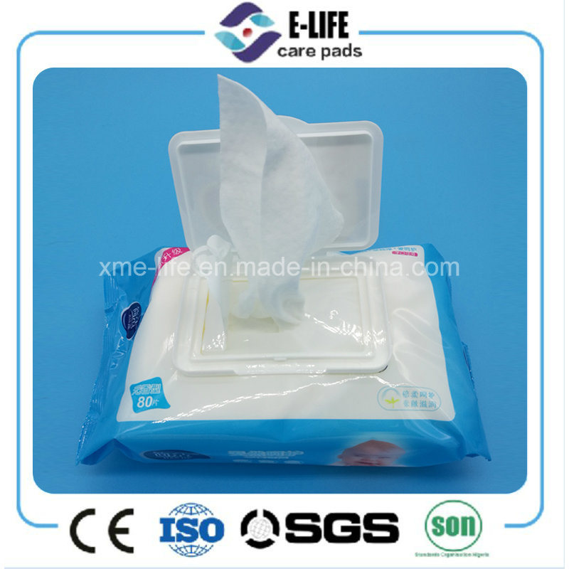 No Alcohol Baby Wet Wipes with Vitamin E