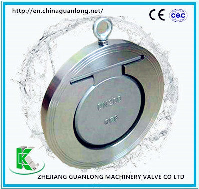 Wafer Insert Swing Slim One Way Non Return Check Valve