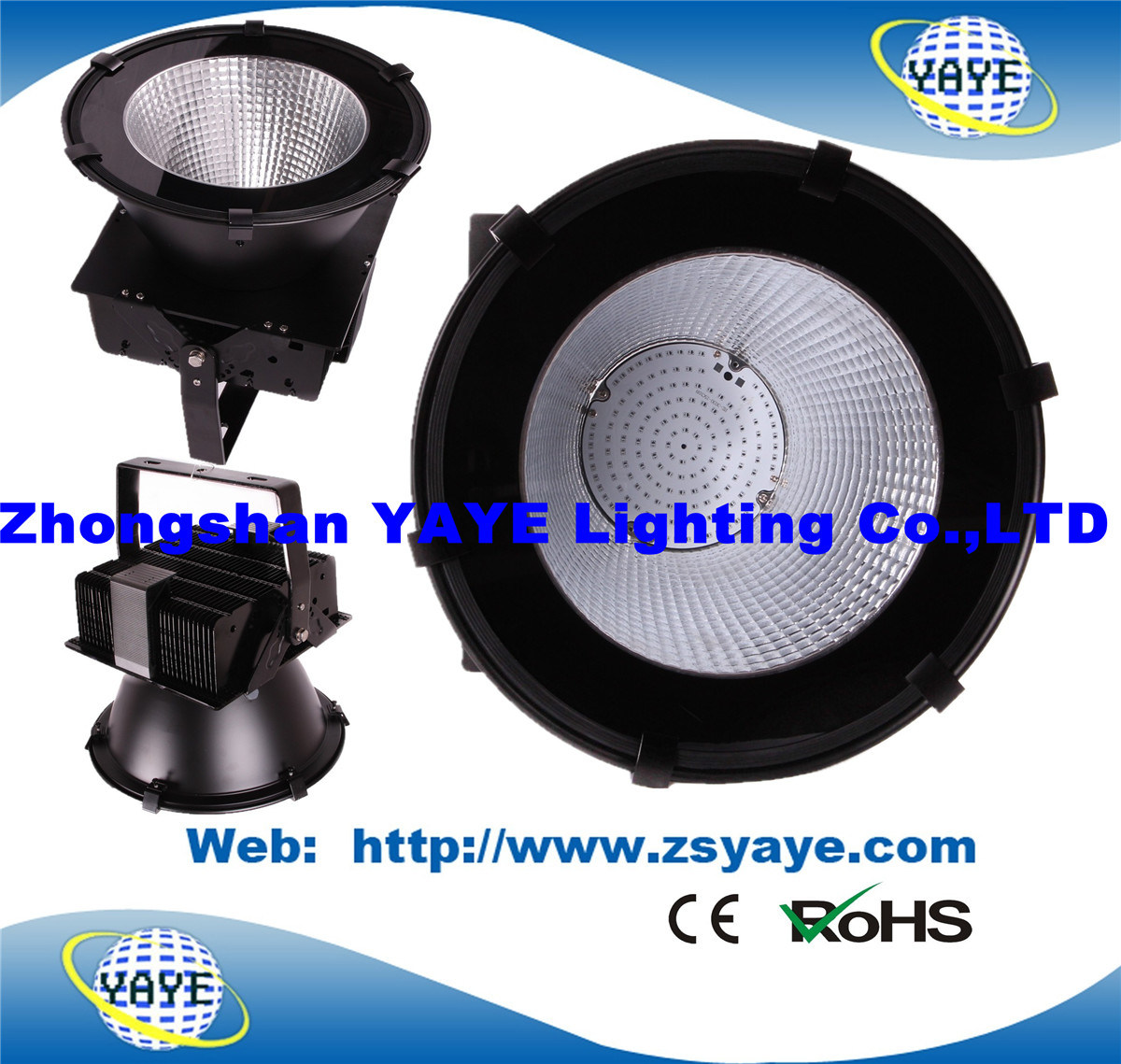 Yaye 18 Hot Sell SMD3030 Meanwell /Osram 120W LED High Bay Light/ 120W LED Industrial Light with 3/5 Years Warranty