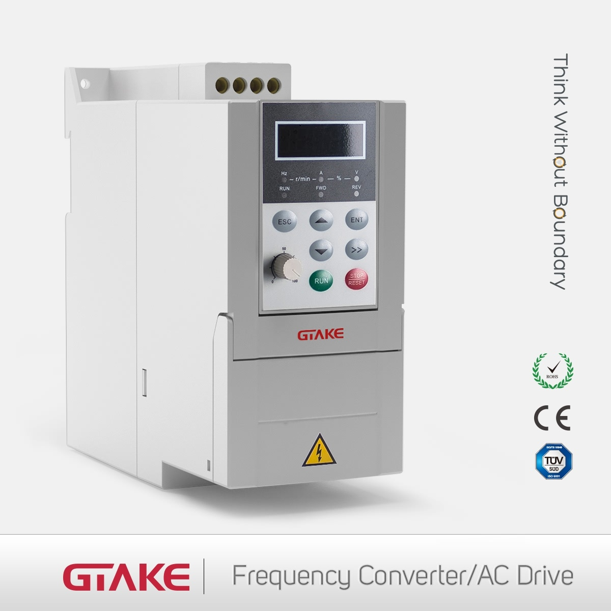High-Performance Mini AC Drives Gk500 Series