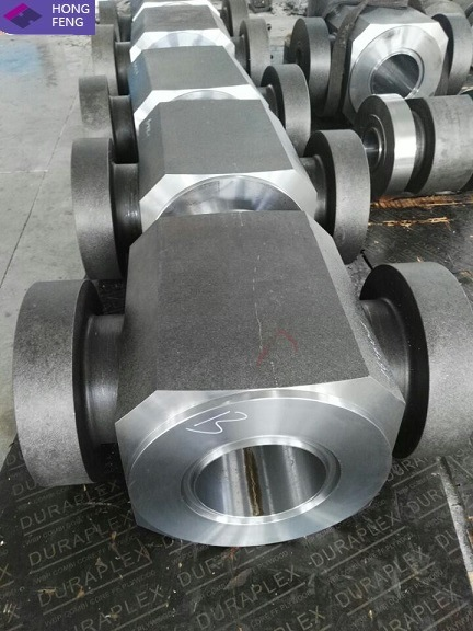 Alloy Steel Forged Valve Body for Mining Machinery
