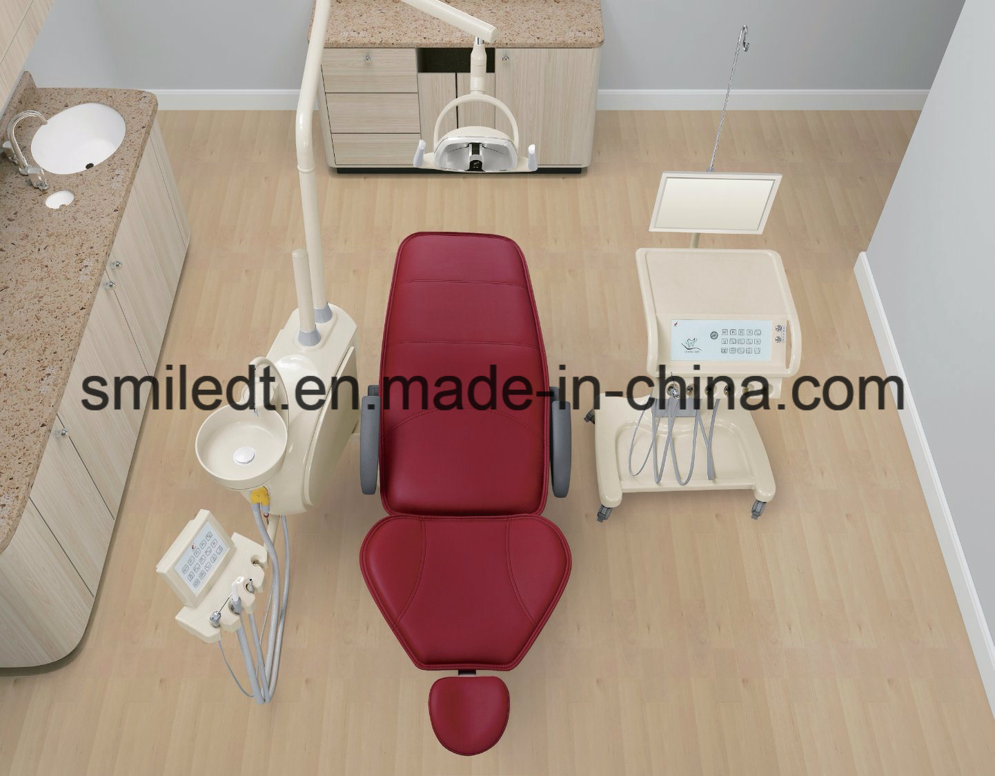 2017 New Dental Unit with Delivery Cart