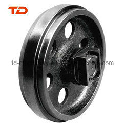 Front Idler for Doosan Excavator Dh55/Dh180 Construction Machinery Earthmoving Parts