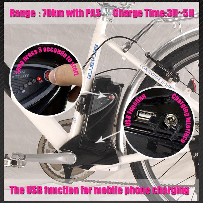Electric Bicycle Mountain Bike (LWEB-L2615)