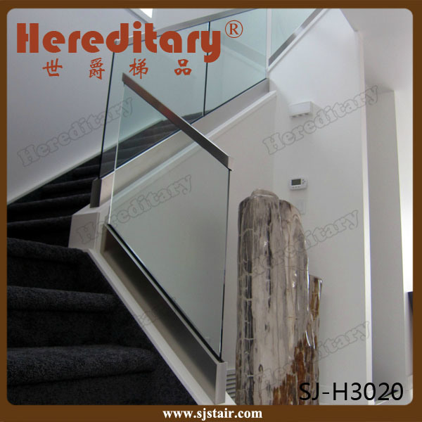 Chinese Manufacture Frameless Glass Railing Outdoor (SJ-H994)