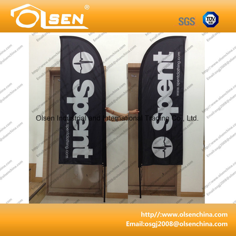 Double Sided Flying Banner for Outdoor Using
