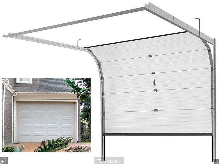Safely Automatic Sectional Industry Garage Door/ Industrial Overhead Door (fz-FC653)