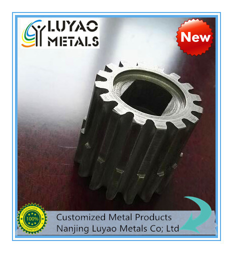 Gear Machining with Stainless Steel/Steel