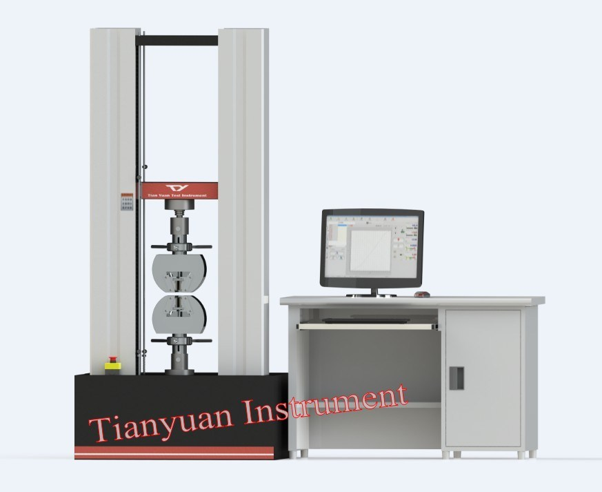 Ty8000 Electronic Universal Testing Machine 300kn Test Equipment