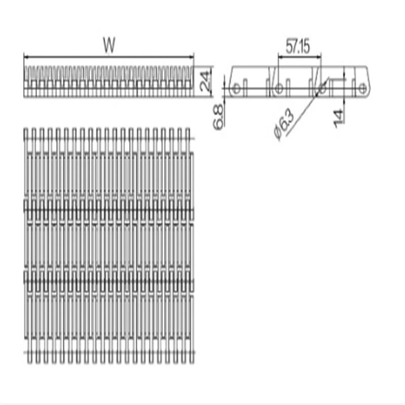 Modular Belts Straight Running (WZ-4809)